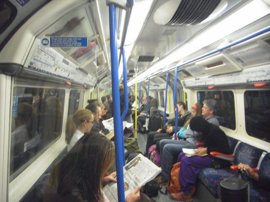 ロンドン地下鉄oyster
