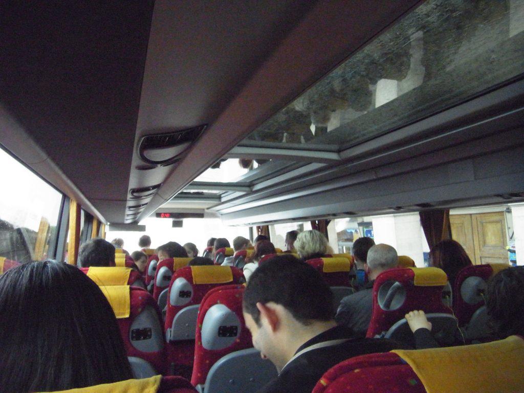 フランスパリ市内観光バス