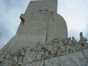 バスコダガマ発見のモニュメント