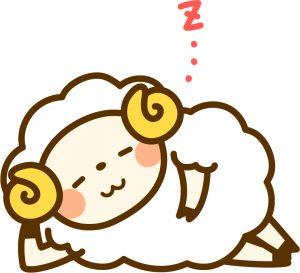 羊の形の絵本