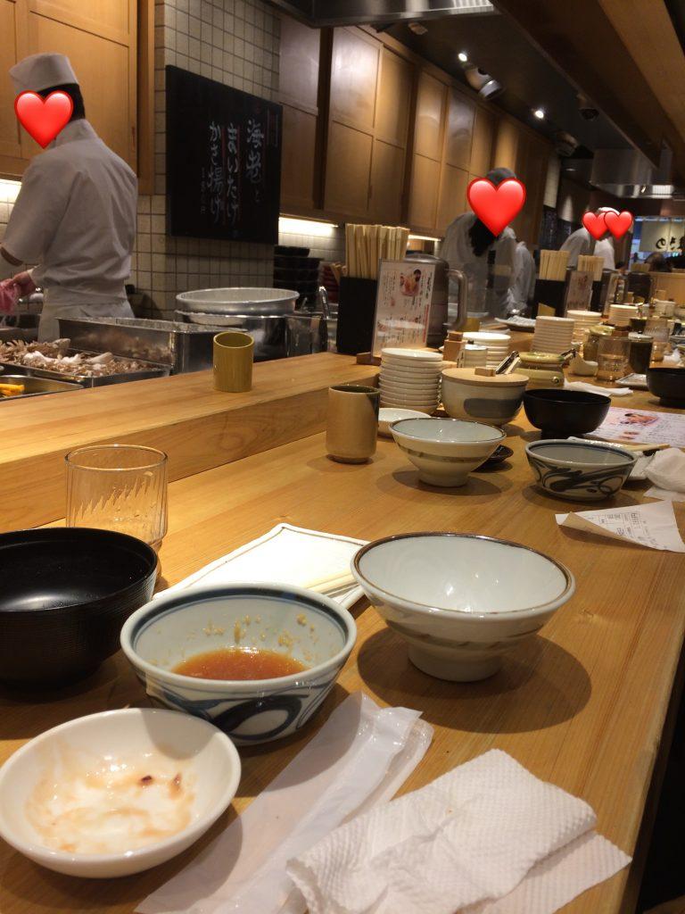 丸亀製麺の天ぷら屋