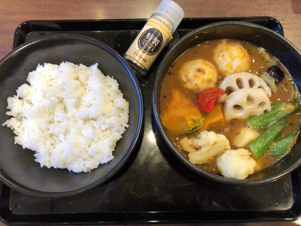 CoCo壱番屋Vegetarian Halal curry